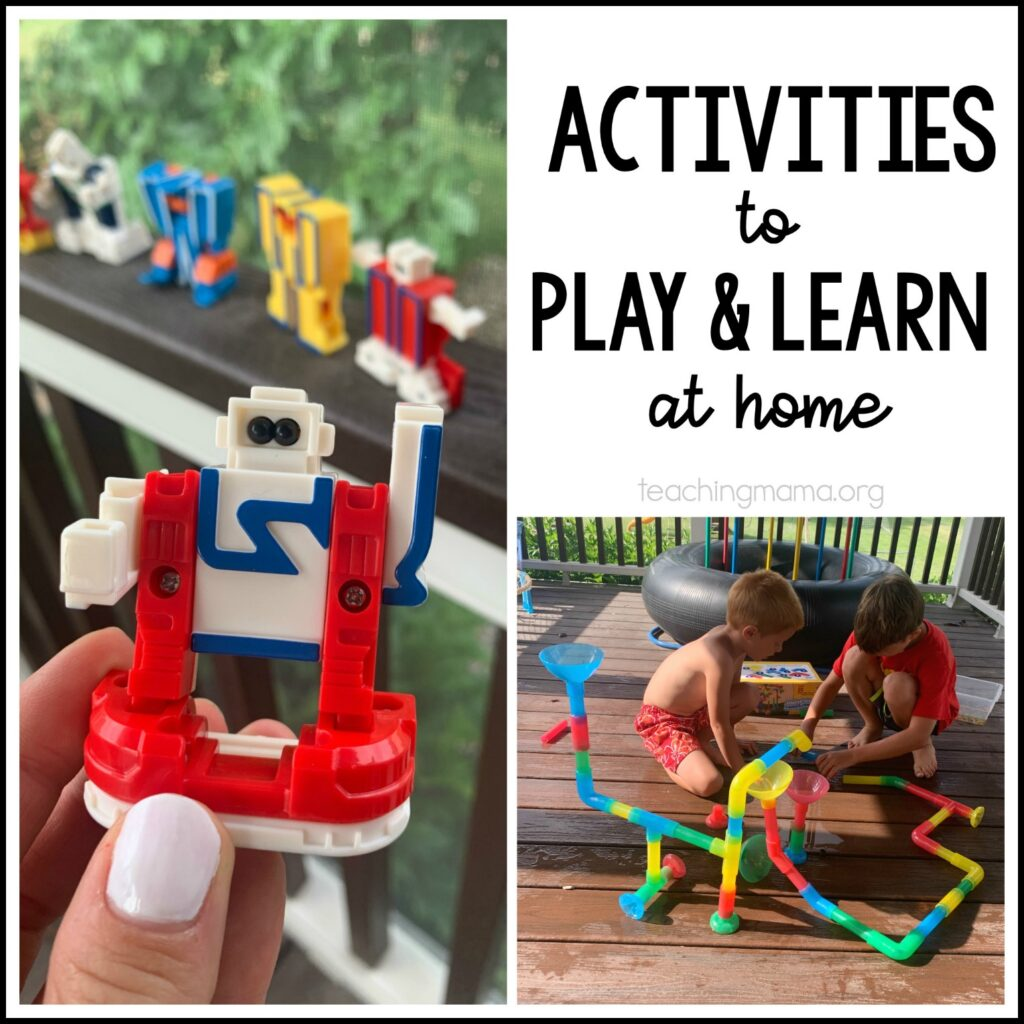 activities to play and learn at home