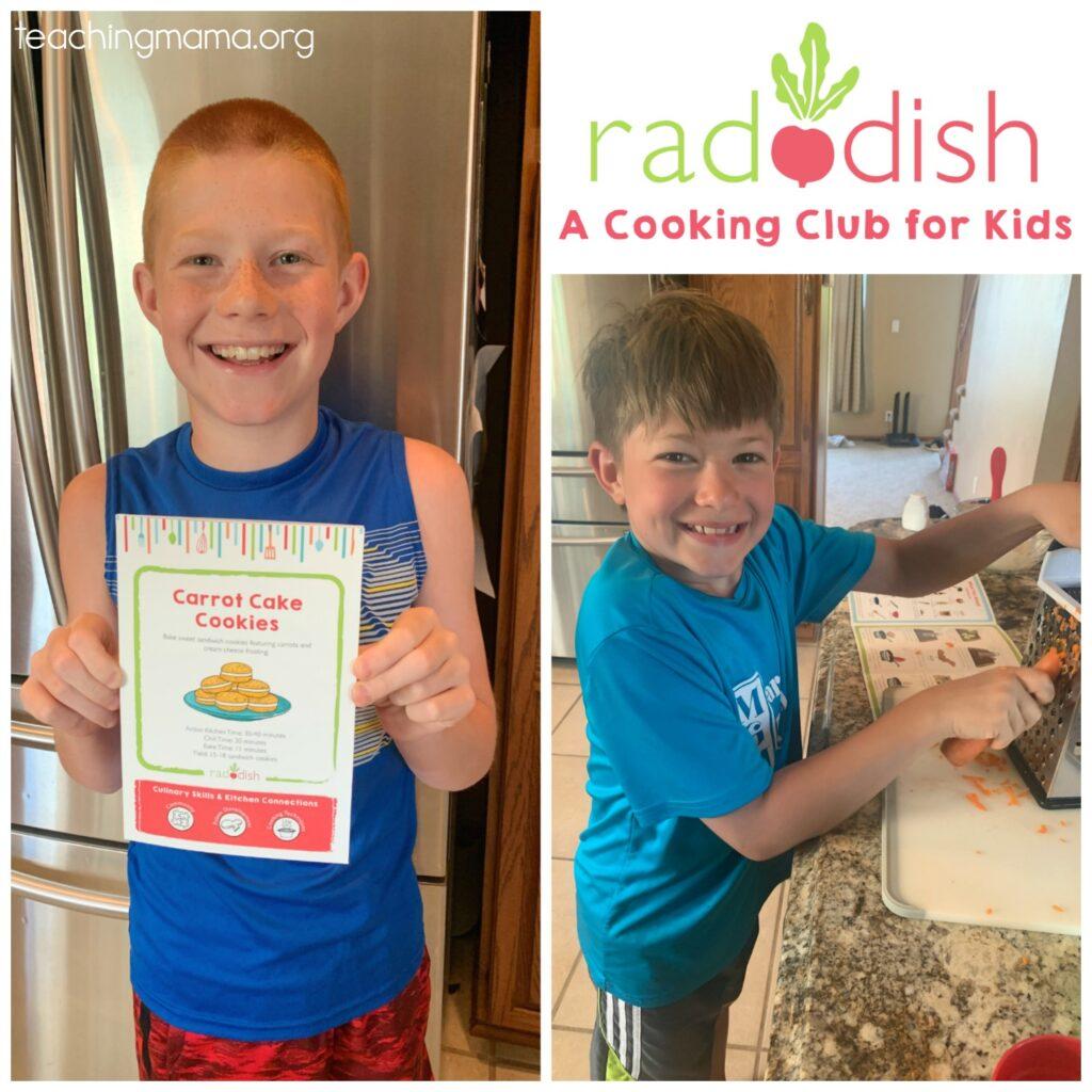 raddish kids - review
