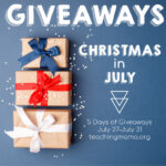Christmas in July – Giveaways!