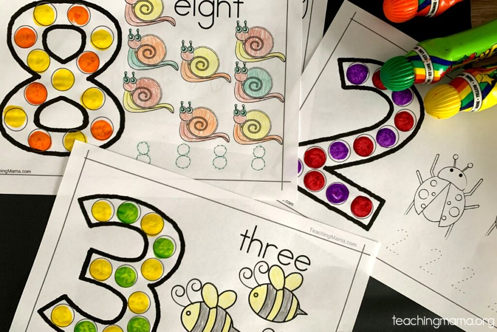 bug do-a-dot printable