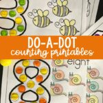 Bugs Do-a-Dot Counting Printables