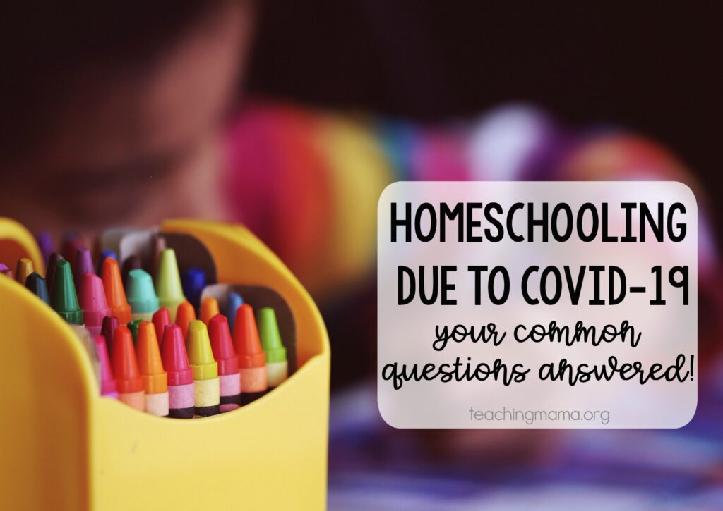 homeschooling due to covid-19