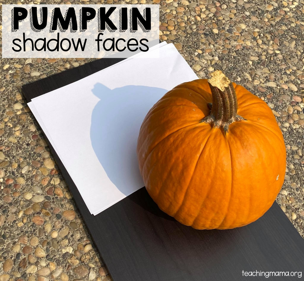 pumpkin shadow faces