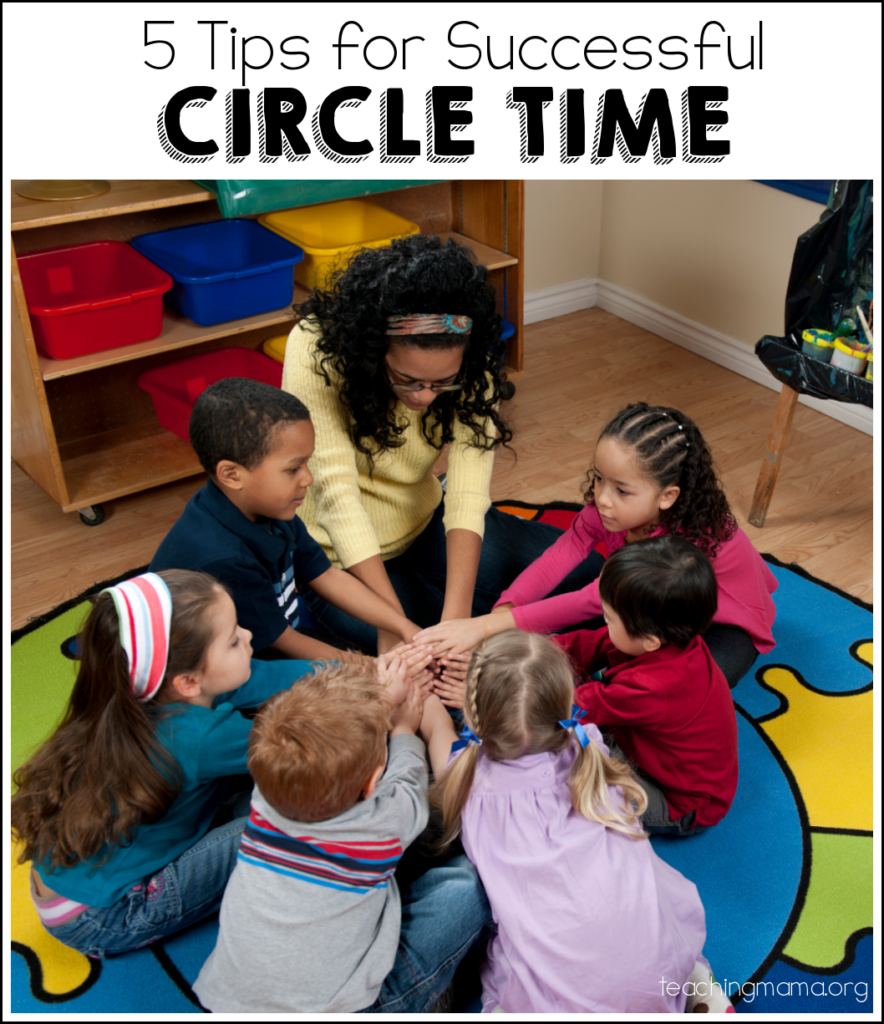 5 Tips for Successful Circle Time