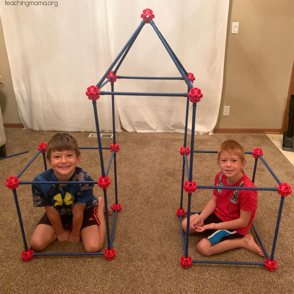 lakeshore learning ultimate fort building kit