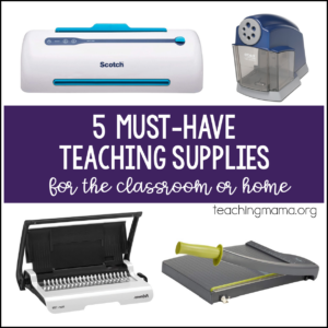 5 must-have teaching supplies