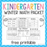 Kindergarten Winter Math Packet