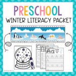 Preschool Winter Literacy Packet
