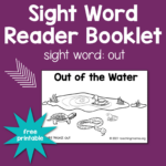 "Sight Word Readers for the Word ""Out"""