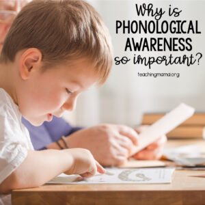 Why is Phonological Awareness so Important?