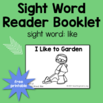 """Sight Word Reader for the Word 'Like"""""""