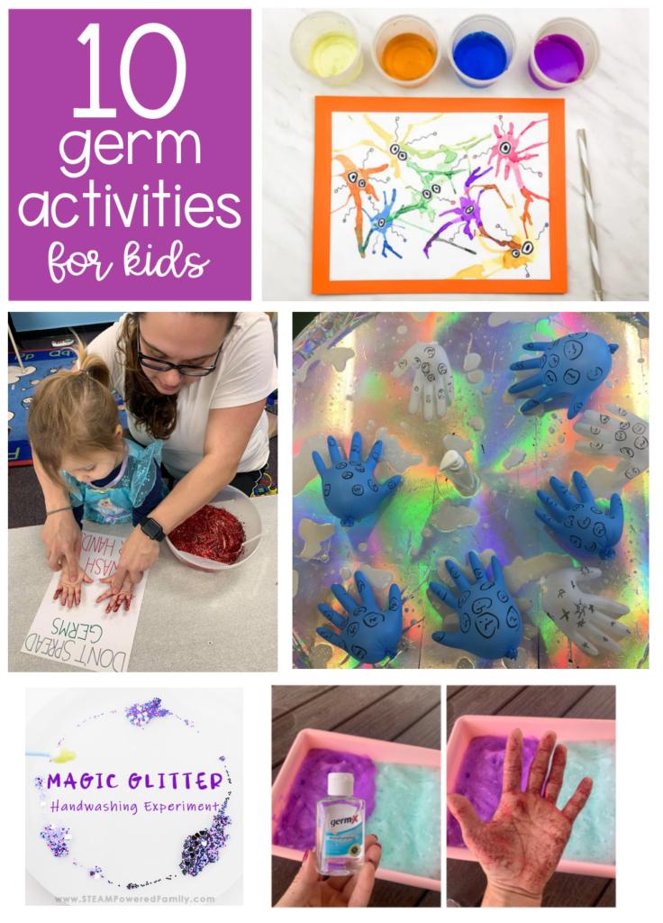 10 germ activities for kids