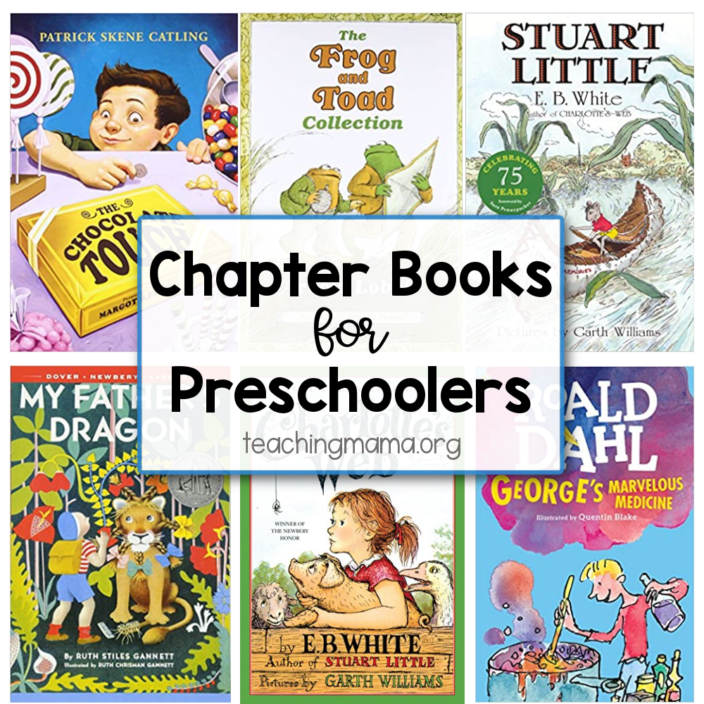 chapter books for preschoolers